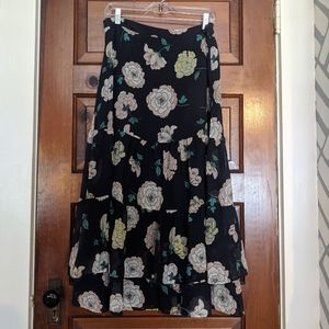 Floral Skirt by Loft